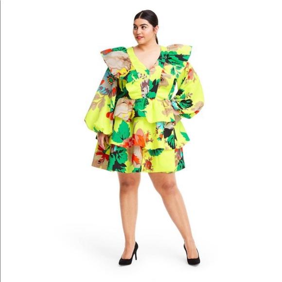 Target Dresses | Christopher John Rogers X Target Floral Dress Plus |  Poshmark
